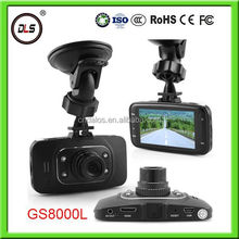 CE ROHS approved GS8000L fhd 1080p car dvr with 4IR Night Vision, Motion Detection, G-Sensor, high quality and top services