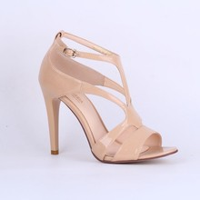 2015 Fashion style Pink Color High Heel Dress Shoes