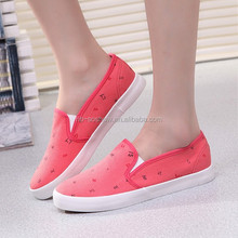 Cheap brand fashion flat sole running shoes for girls