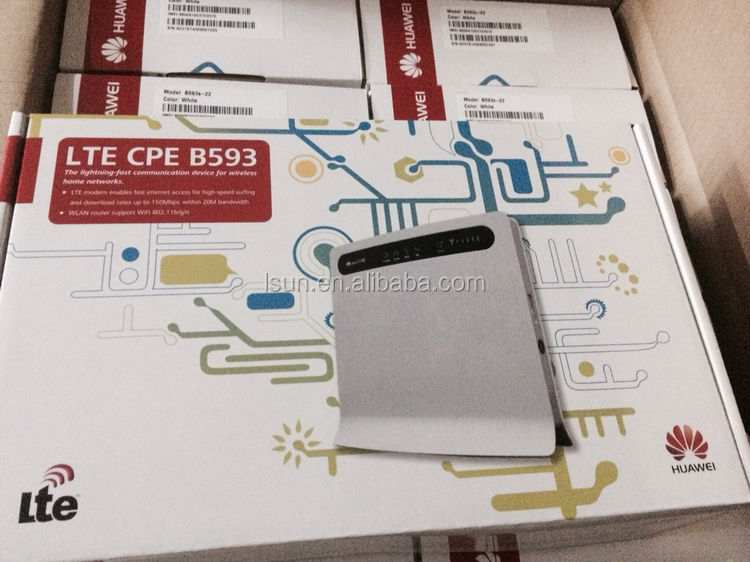 huawei b593 4g lte cpe wifi router would own pleasure