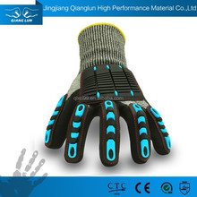 Wholesale sandy nitrle coated puncture proof gloves