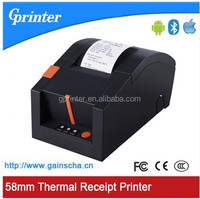 """2"""" Bluetooth thermal receipt printer connect with Android & iOS device"""