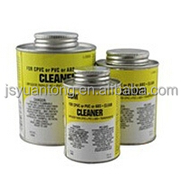 Clear PVC pipe solvent cement factory