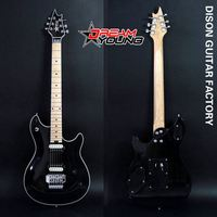 DS-EG5016 Professional Hot Sales Black Electric Guitar 7 String
