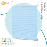 waterproof folding tension pleated curtains