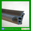different silicone/PVC/EPDM rubber seal strip