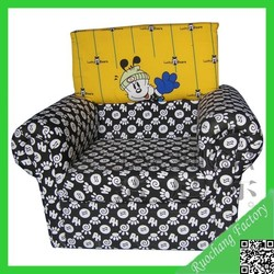 New design cartoon teak wood carving sofa sets, cheap kids sofa