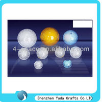 decorative acrylic balls white