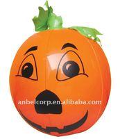 Inflatable Pumpkin As Halloween Decoration