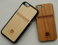Unique Eco-Friendly 100% Hand-made Real Natural Wood Hard Shell Case for iPhone 5s/6/6+/6s