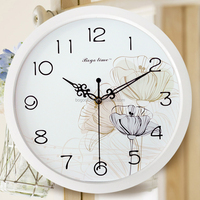 Beautiful Decorative Bathroom Wall Clock with Classic Style