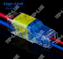 led connector, safe quick reliable connector for LED lamps, no stripping