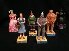 Wizard OZ Resin Figures