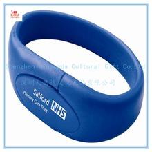 Cute wholesale promotion hand band usb flash drive, silicone hand band usb flash drive, usb hand band usb flash drive