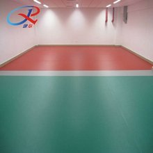 Plasitic indoor flooring for sports use