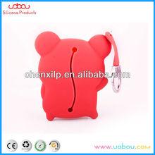 Fashionable colorful silicone pig bag