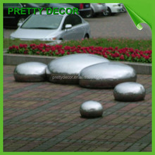Stainless Steel Flat Ball for Garden Lawn ornament