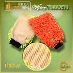 Hot sale Car Care Products Super Soft mitt household cleaning gloves
