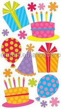 Hot sale lovely Fun Party & Balloons Sticko sticker