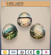 High quality promotional custom souvenir epoxy fridge magnet