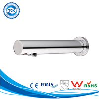 Wall Mount Chrome Plated Electronic Sensor Basin Water Tap