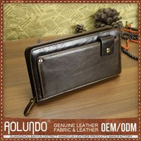 Excellent Quality Popular Design Leather Wallet Case Factory