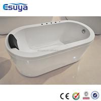 Factory made directly small cheap plastic portable acrylic fiberglass bathtub for adult ,clear acrylic bathtub