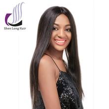Cheap Real Hair 100% human hair u part wig white women lace wigs, cheap human hair topper wig