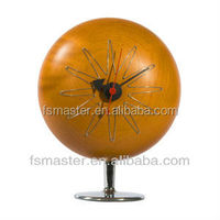 modern table ball desk pill clock with stand