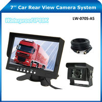 120 View Angle Waterproof Night Vision Heavy Duty Car Rear View Backup Reverse Camera System For Bus/Truck/Trailer/RV/Mining/Van