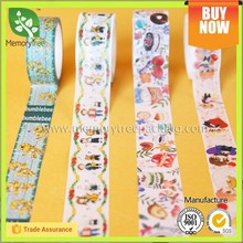 Art and craft custom washi tape/deco tape for wall decoration
