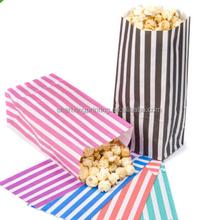 Hot Selling Side-gusset Paper fast Food Bag packaging & gift bag flour packaging bag Open Easily