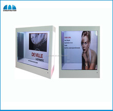 New Edition advertising transparent LCD multi-screen display of videos, pictures, rolling texts product display