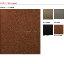 EJ R237 Embossed pvc leatherette fabric for Automotive Interior and Vehicle Car Seat