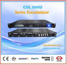 DVB Headend_ Satellite receiver/Multiple channels Mpeg2/H.264 Encoder_Mux Scrambler_dvb-s/t/isdb-t/atsc Modulator DTV solution