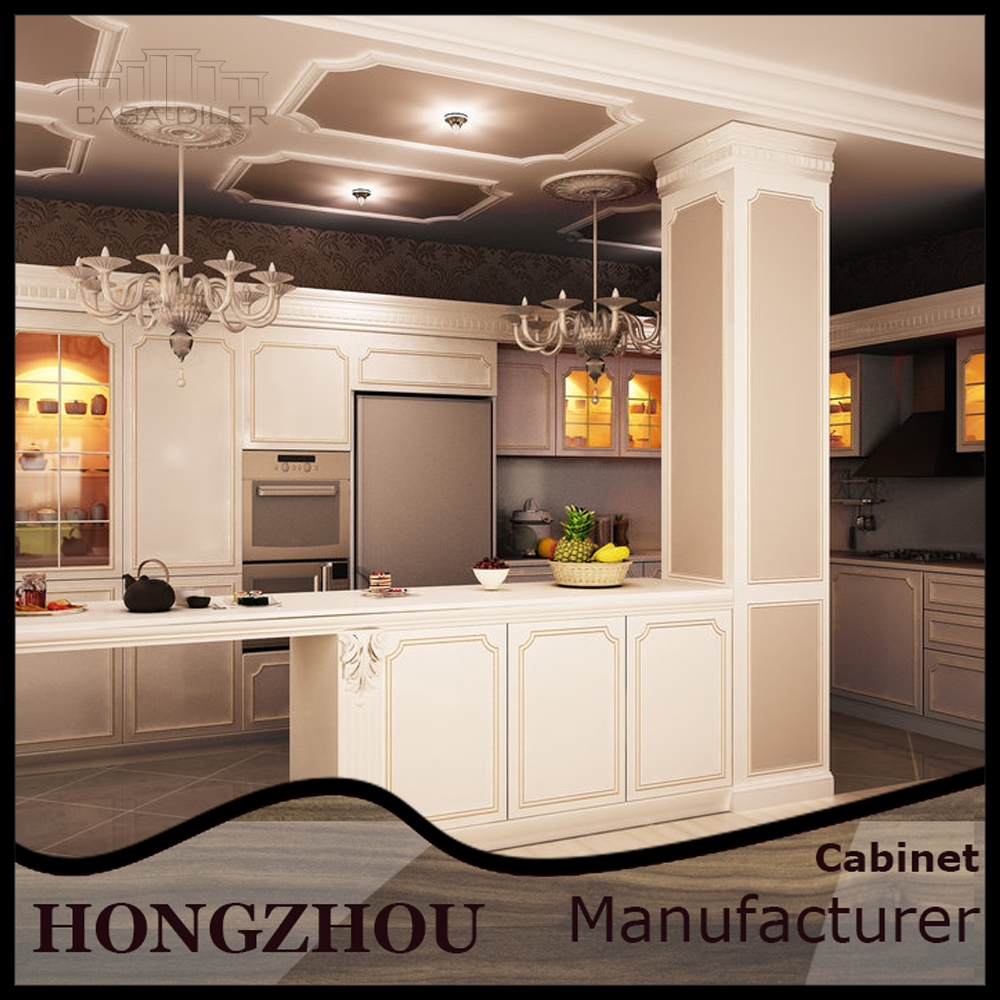 Alibaba china ready made simple solid wood kitchen for for Ready made kitchen cabinets for sale
