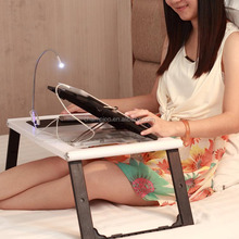 2015 Best Selling folding bed study table with LED light