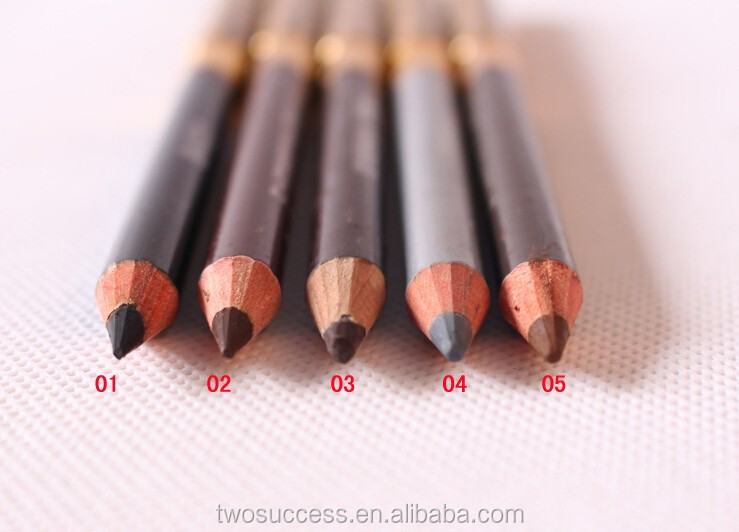 eyebrow pencil with brush eyebrow pencil can print private logo