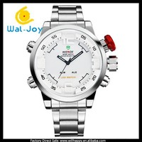 stainless steel charming LED 3ATM waterproof men WEIDE wrist watch(WJ-1969-1)