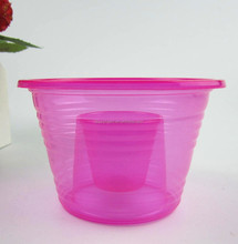 Pink Disposable Plastic bomb shot cup for party bar