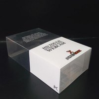 clear plastic pencil box,clear plastic box for playing cards,clear pvc packaging box