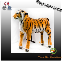 FUNNY TOY!!!ride on tiger stuffed animal toys, kids toys large tiger, tiger