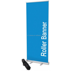 Standard Roll Up Banner Stand Aluminum+Plastic Foot