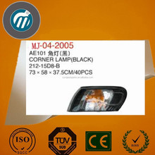AE101 212-15D8-B BLACK CORNER LAMP FOR TOYOTA COROLLA AE101 1999