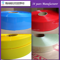 pvc heat adhesive shrink film/20mm Dia PVC Heat Shrink Tubing Wrap for Battery