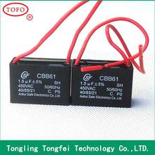 high standard super capacitors 0.1uf 250v