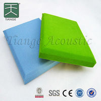 fire rated fabric expanding wall noise control acoustic panel