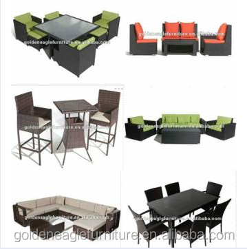 hd designs outdoor rattan furniture dining set view