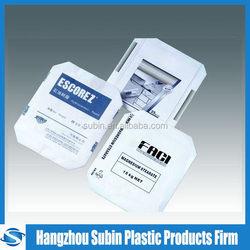 Designer low price rock salt heat sealing pack bag