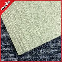 green ceramic tile stair nosing 30x30cm